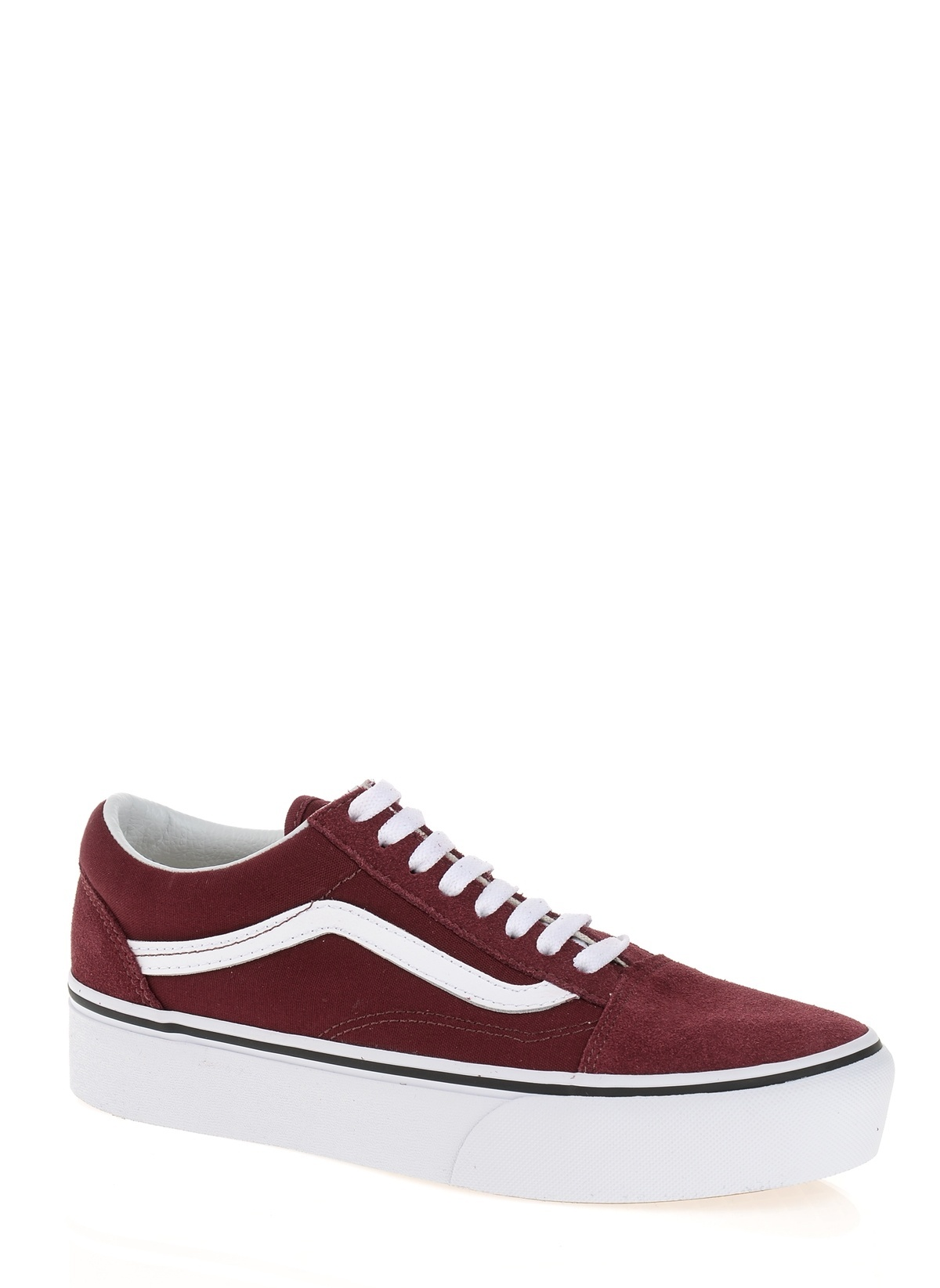 926a23897e Vans Kadın Old Skool Platform Port Royale True White